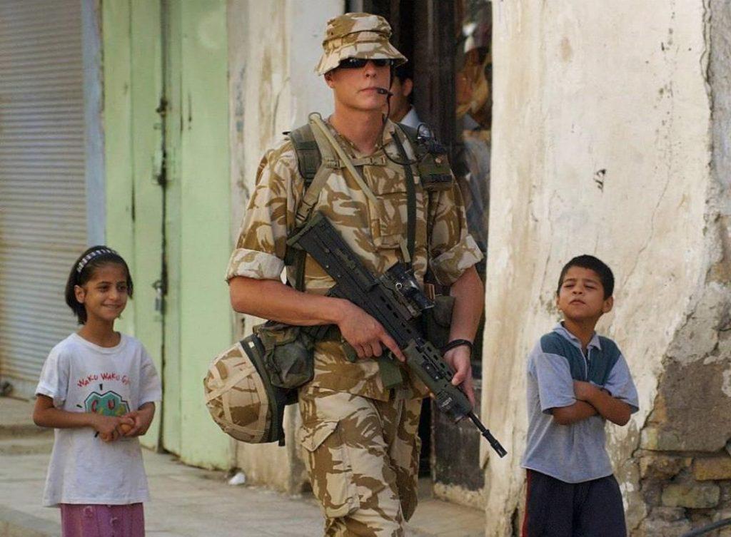 """Ejemplo de """"soft patrol"""" con el 2nd Lt Matt Swales"""