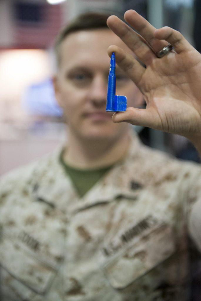 La impresión 3D será una de las tecnologías que permitan revolucionar la logística militar. El USMC está inviertiendo en ello grandes sumas. Foto - USMC