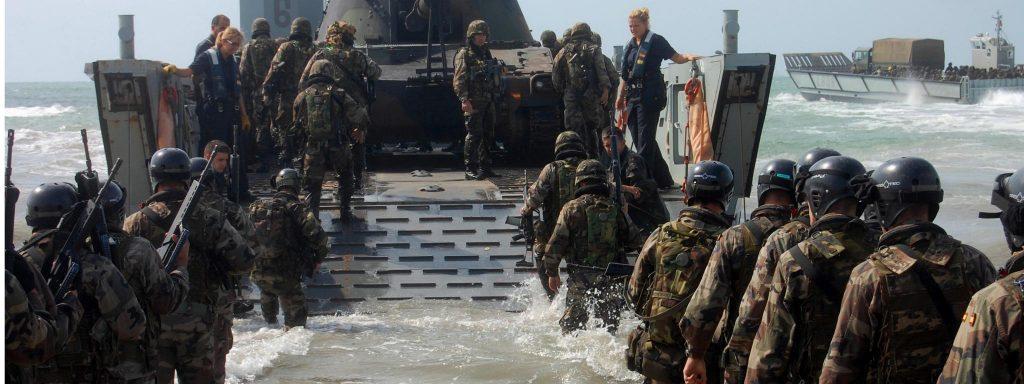 La Retirada Anfibia es una más de las posibles operaciones anfibias que puede llevar a cabo nuestra Infantería de Marina. Foto - Armada Española