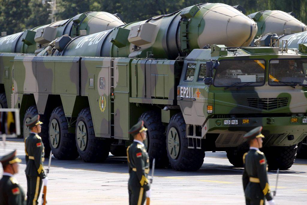 Misiles DF-21D. China podría tener unas fuerzas nucleares mucho mayores de las declaradas