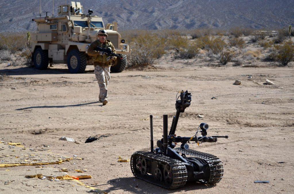 Si hoy en día los robots sirven de apoyo a la infantería, en el futuro se espera que acaparen el grueso de las misiones funcionando de manera autónoma y reduciendo al máximo el número de bajas propias. Foto - US DoD