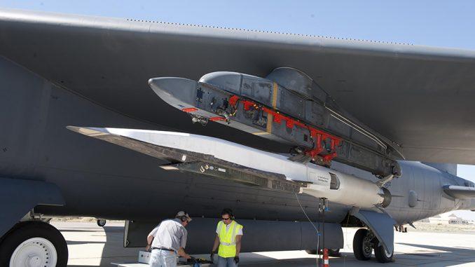 Prototipo de misil hipersónico en desarrollo para la Fuerza Aérea de los EE. UU.