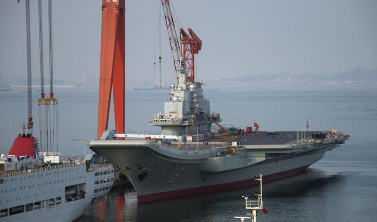China se prepara para operar una flota de hasta media docena de portaaviones, cuatro de ellos comparables, por desplazamiento, a la clase Gerald R. Ford estadounidense