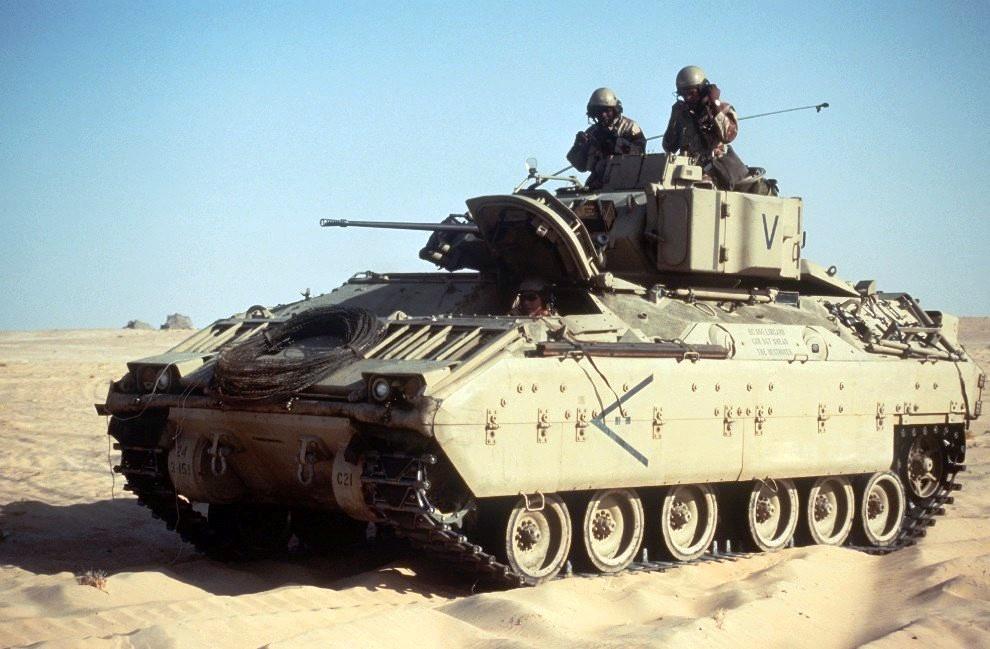 Vehículo de combate Bradley
