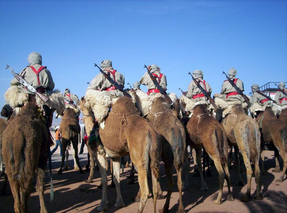 Antiguo Cuerpo de Camellos, actualmente organizado en GEC