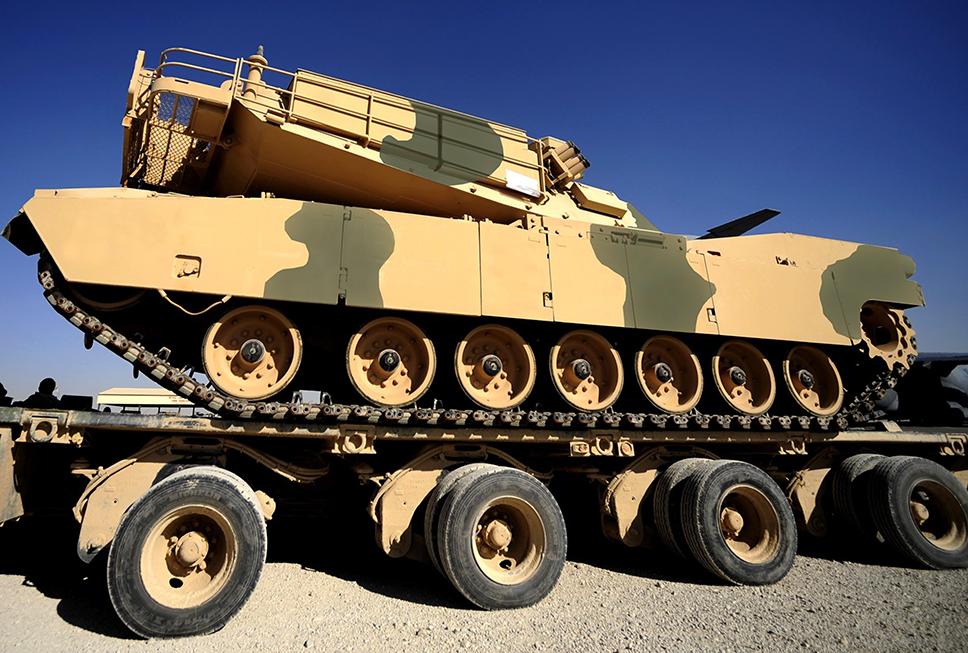 M1A1 SA Abrams de Marruecos