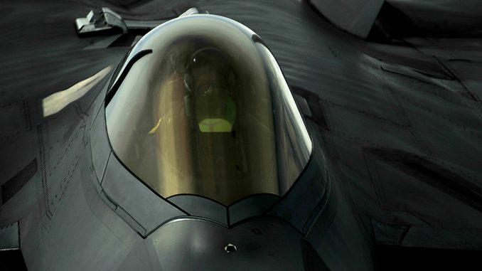 F-22 en Langley