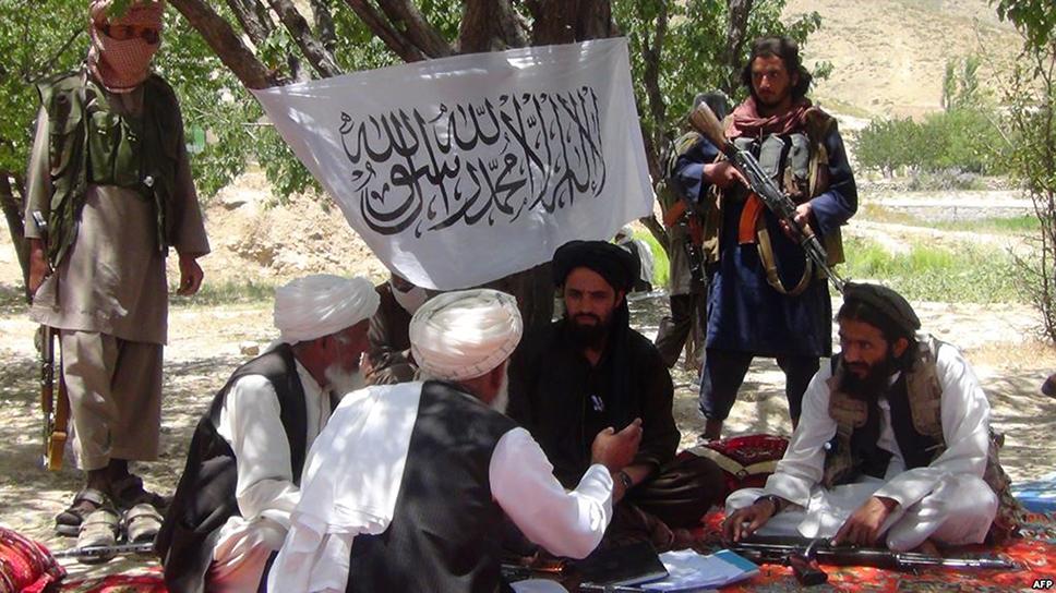 Reunión de líderes talibanes