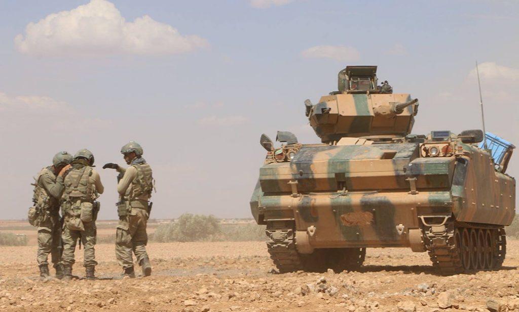 Pese a contar con aliados locales que debían soportar el peso de los combates, han sido los Turcos, gracias a sus medios blindados, los que han logrado que la operación no fuese un fracaso