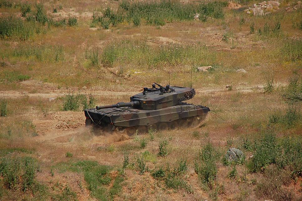 Leopard 2A4 del Ejército de Tierra de España