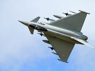 El Eurofighter podría formar parte de una dupla perfecta junto al F-35