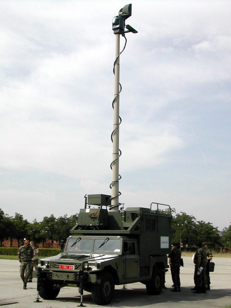 Único Vehículo de Vigilancia Terrestre que solo permaneció en activo unos pocos años