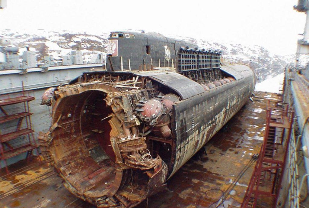 SSGN Oscar II K-141 Kursk