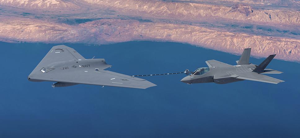 Drone de reabastecimiento MQ-25