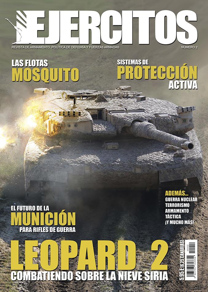 Portada Revista Ejércitos - Número 2 - Marzo de 2018
