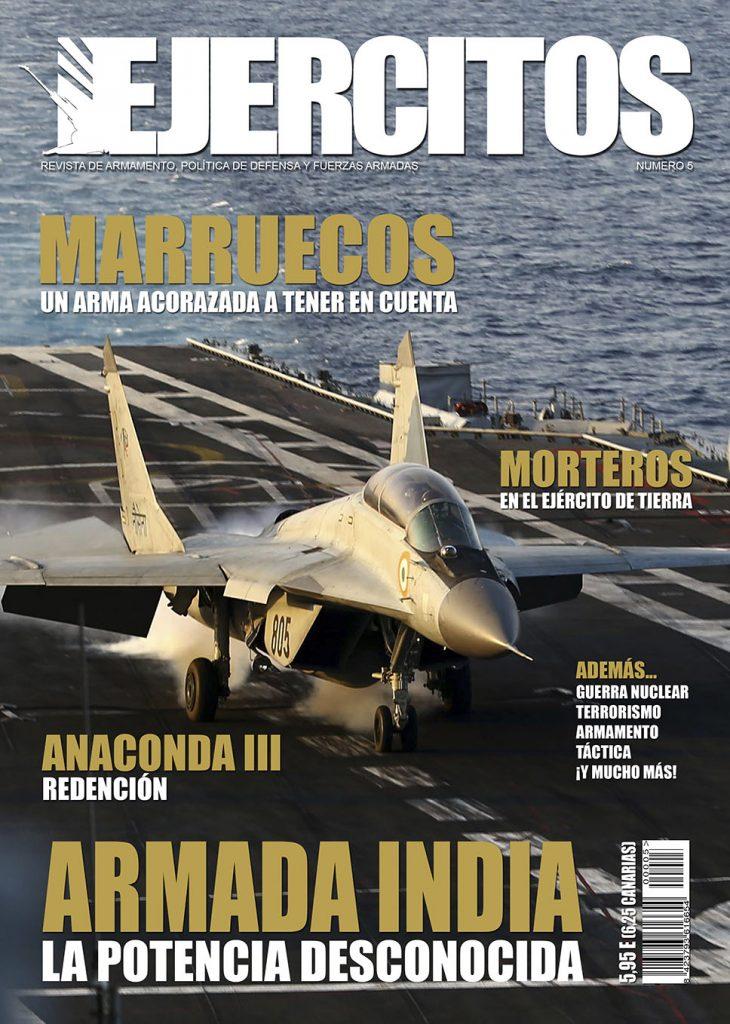 Portada - Revista Ejércitos - Número 5