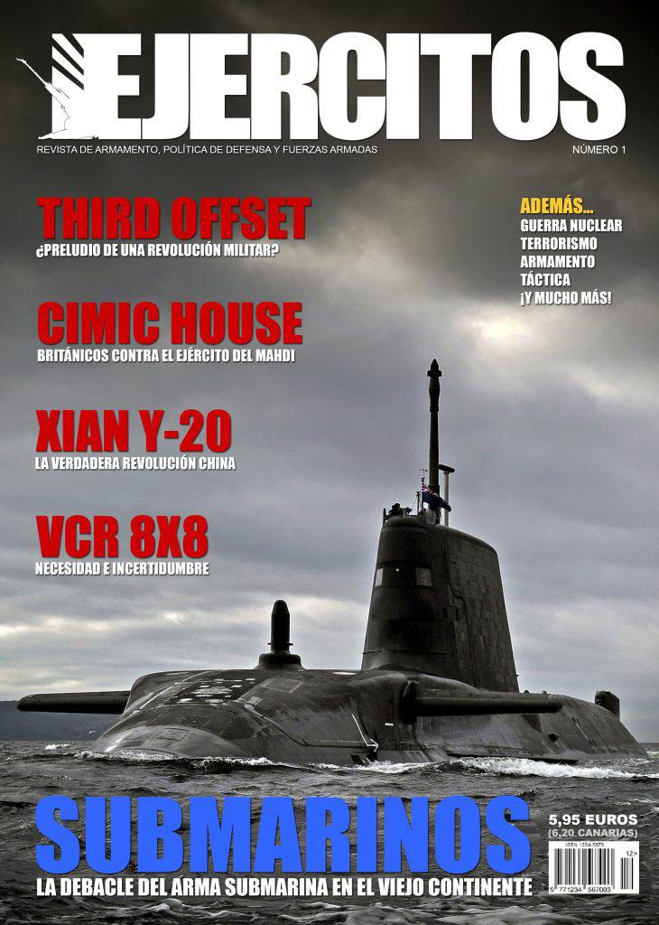 Revista Ejércitos - Número 1 - Enero de 2018 - Portada