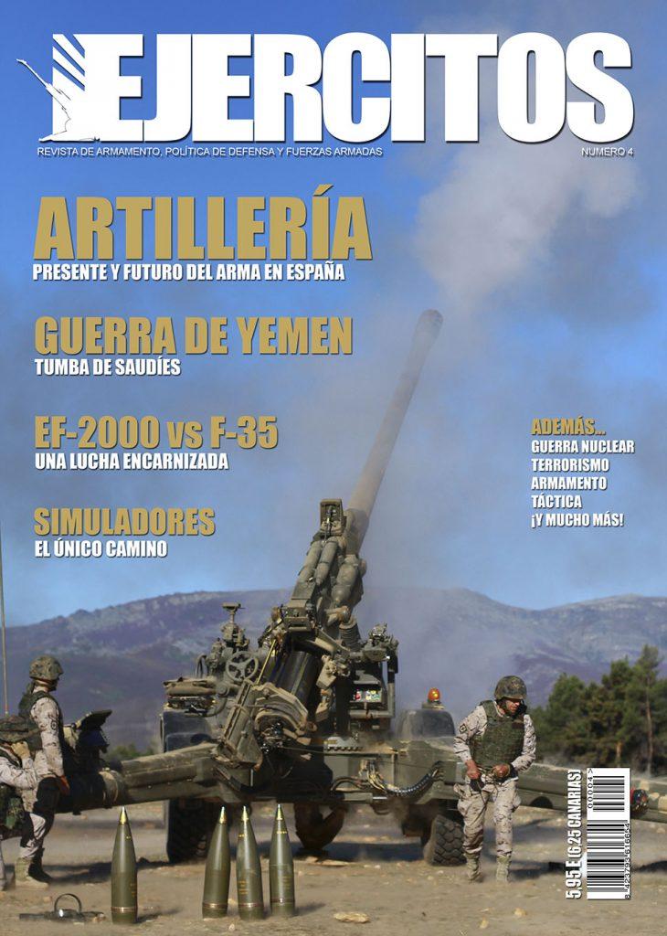 Revista Ejércitos - Número 4 - Portada