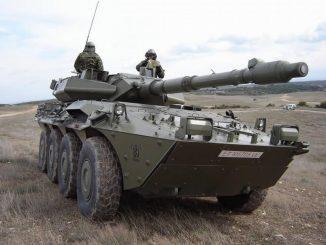VRC Centauro, blindado de combate específico de las unidades de Caballería