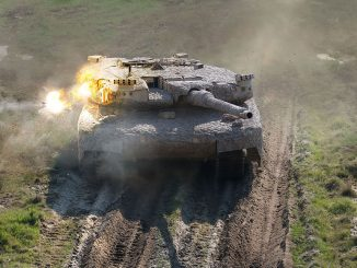 Sistema de Protección Activa de Rheinmetall en acción