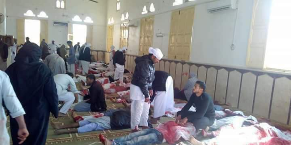Ataque a mezquita en Egipto
