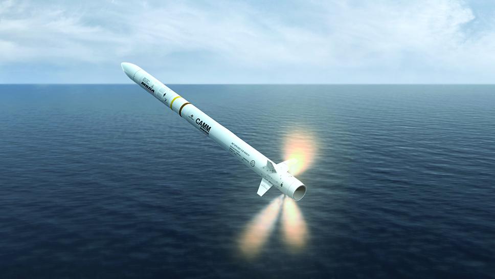 Misil Sea Ceptor de MBDA