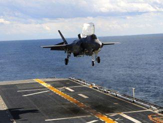 F-35B en el USS Wasp