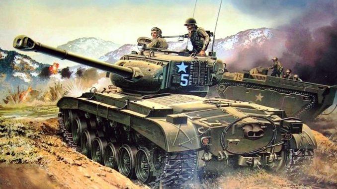 Los carros de combate durante la Guerra de Corea