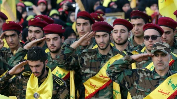 Miembros de Hezbollah