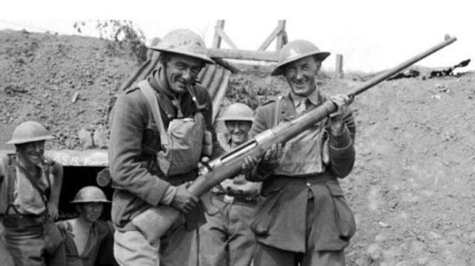 """El """"Tankgewehr M1918"""" es considerado el primer fusil contracarro del mundo, siendo realmente una modificación del Mauser de 1898."""