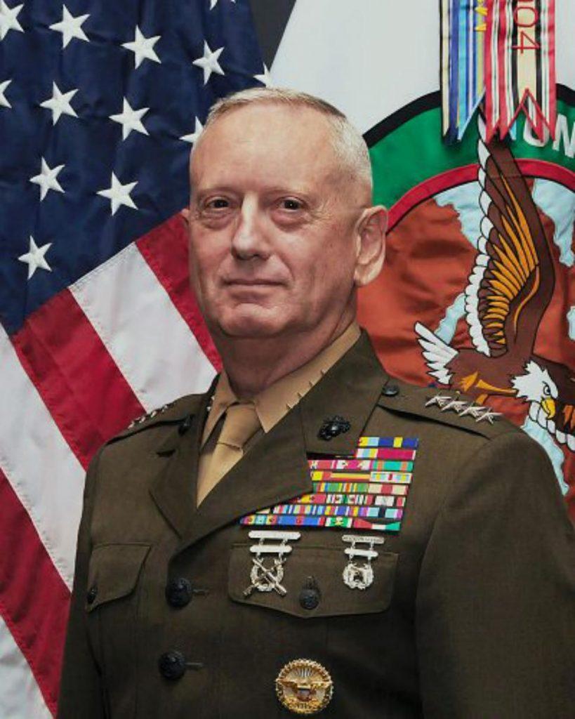 Maj. Gen. Mattis, a cargo del I MEF parte de cuyas unidades lucharon en la Batalla de Faluyah