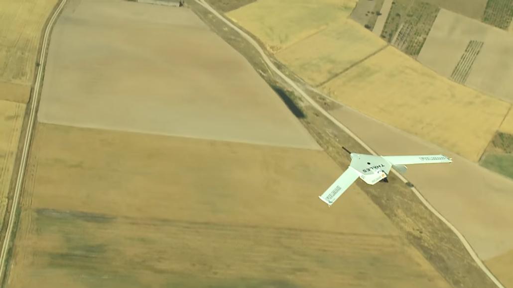 Drones como el Fulmar permitirán contar con capacidades ISR ahora inconcebibles. Foto - Thales.