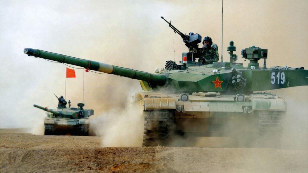 Carro de combate chino Type 99