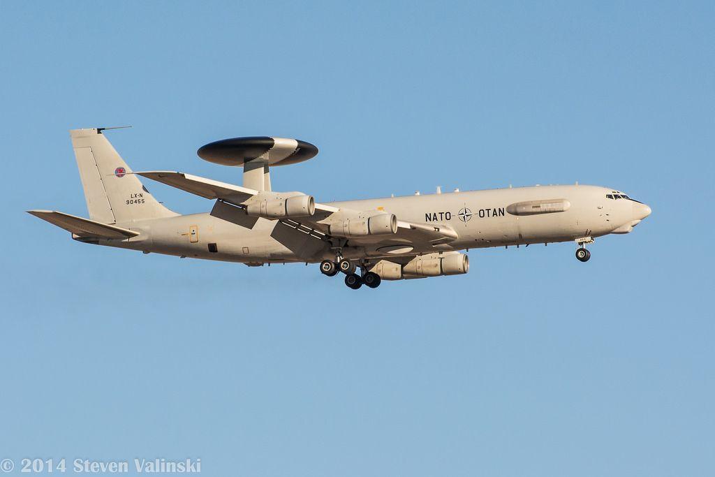 Boeing E-3 Sentry OTAN - NATO