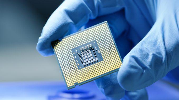 Producción de microchips